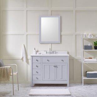 Newcastle 42'' Single Bathroom Vanity Set by Ove Decors