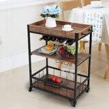 Bulwell Kitchen Cart by 17 Stories