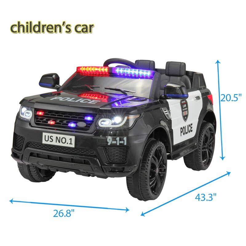 Kid Motorz 12V Patrol H. Police