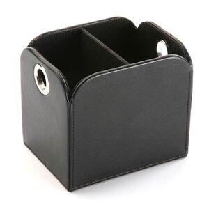 Fernbedienungs-Box aus Kunstleder von Hokku Des..