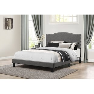 Dinesh Queen Upholstered Panel Bed
