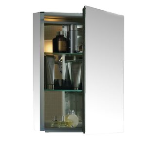 20 X 26 Aluminum Medicine Cabinet With Mirrored Door