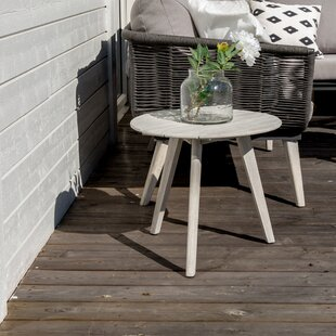 Dhairya Wooden Side Table By Sol 72 Outdoor