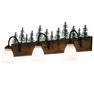 Loon Peak Boltwood Tall Pines 2-Light Vanity Lighting