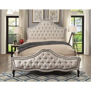Rosdorf Park Dimitri Upholstered Panel Bed
