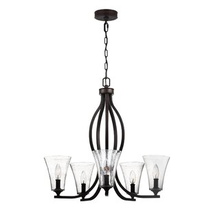 Darby Home Co Oneal 5-Light Shaded Chandelier