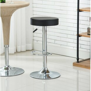 Reviews Balbo Adjustable Height Bar Stools (Set of 2) by Orren Ellis Reviews (2019) & Buyer's Guide