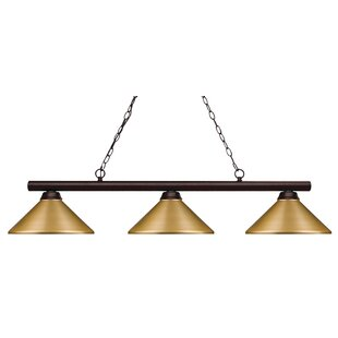 Red Barrel Studio Chapdelaine 3-Light Pool Table Light