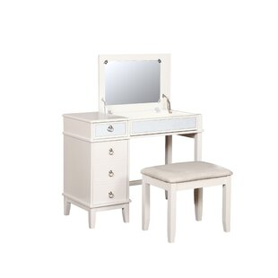 Kemmerer Vanity Set with Mirror