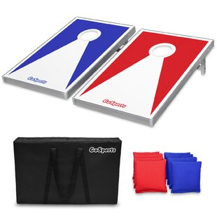 GoSports Cornhole Set with..