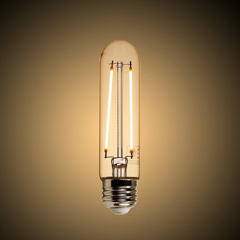 Light Society 4 Watt (40 Watt Equivalent), T10 LED ...
