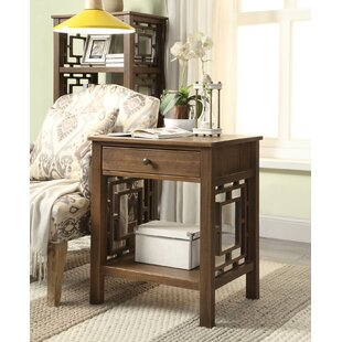 Montgomery End Table by World Menagerie