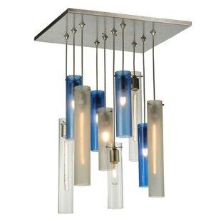 Cilindro 10-Light Pendant by Meyda Tiffany