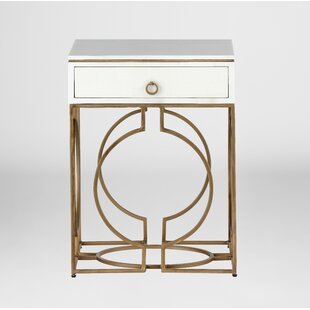 Bargain Cedric End Table with Storage by Gabby
