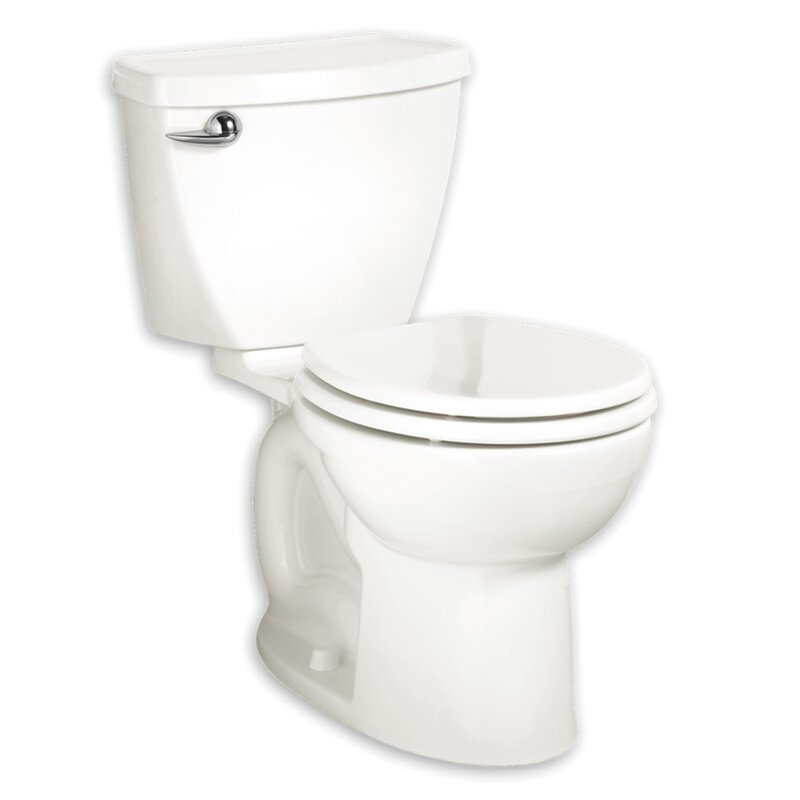 American Standard Cadet 3 1.6 GPF Round Two Piece Toilet (Seat Not