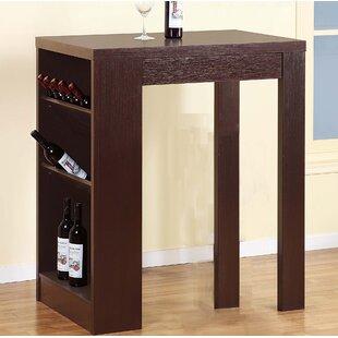 Waites Stylish Bar with Wine Storage by Latitude Run