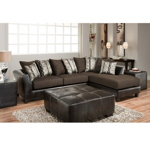 Dilorenzo Contemporary L-Shaped Sectional by..