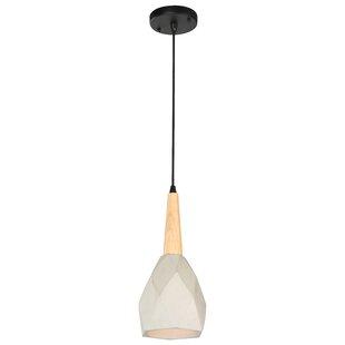 Beldi Ciment 1-Light Cone Pendant