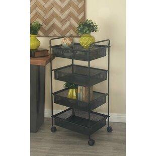 Cole & Grey 4 Tier Bar Cart