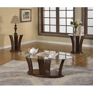 Latitude Run Prosperie 3 Piece Coffee Table Set