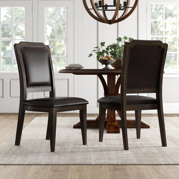 Martinsburg Upholstered Solid Back Side Chair Reviews Birch Lane