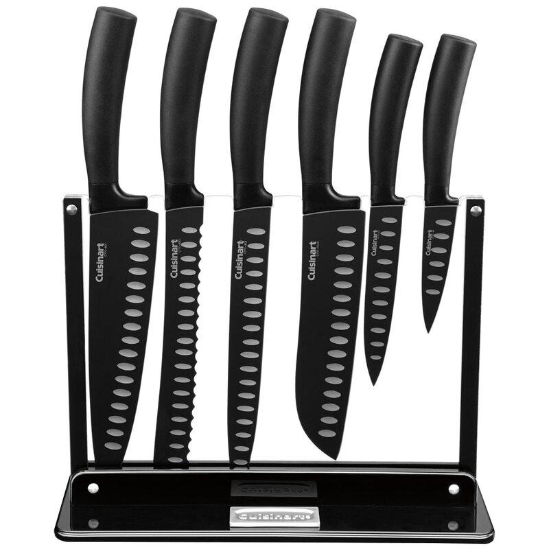 Charmant Classic 7 Piece Nonstick Knife Block Set