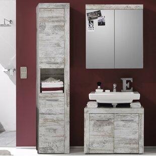 Partone 3 Piece Bathroom Storage Furniture Set By Mercury Row