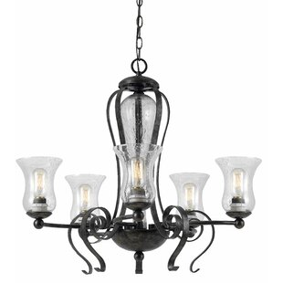 Fleur De Lis Living Addison Avenue 5-Light Shaded Chandelier