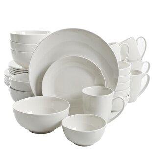 Cottonwood 30 Piece Dinnerware Set, Service for 6