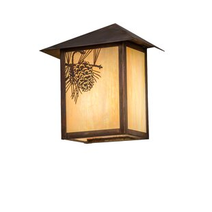 Xzavier Outdoor Flush Mount By Loon Peak Outdoor Lighting