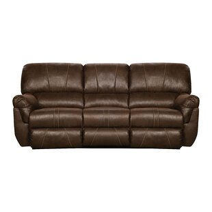 Bosquet Motion Reclining Sofa by Simmons Upholstery by Loon Peak
