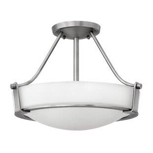 Hathaway 3-Light LED Semi Flush Mount by Hinkley Lighting