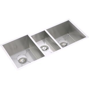 Triple kitchen sinks youll love wayfair save to idea board workwithnaturefo