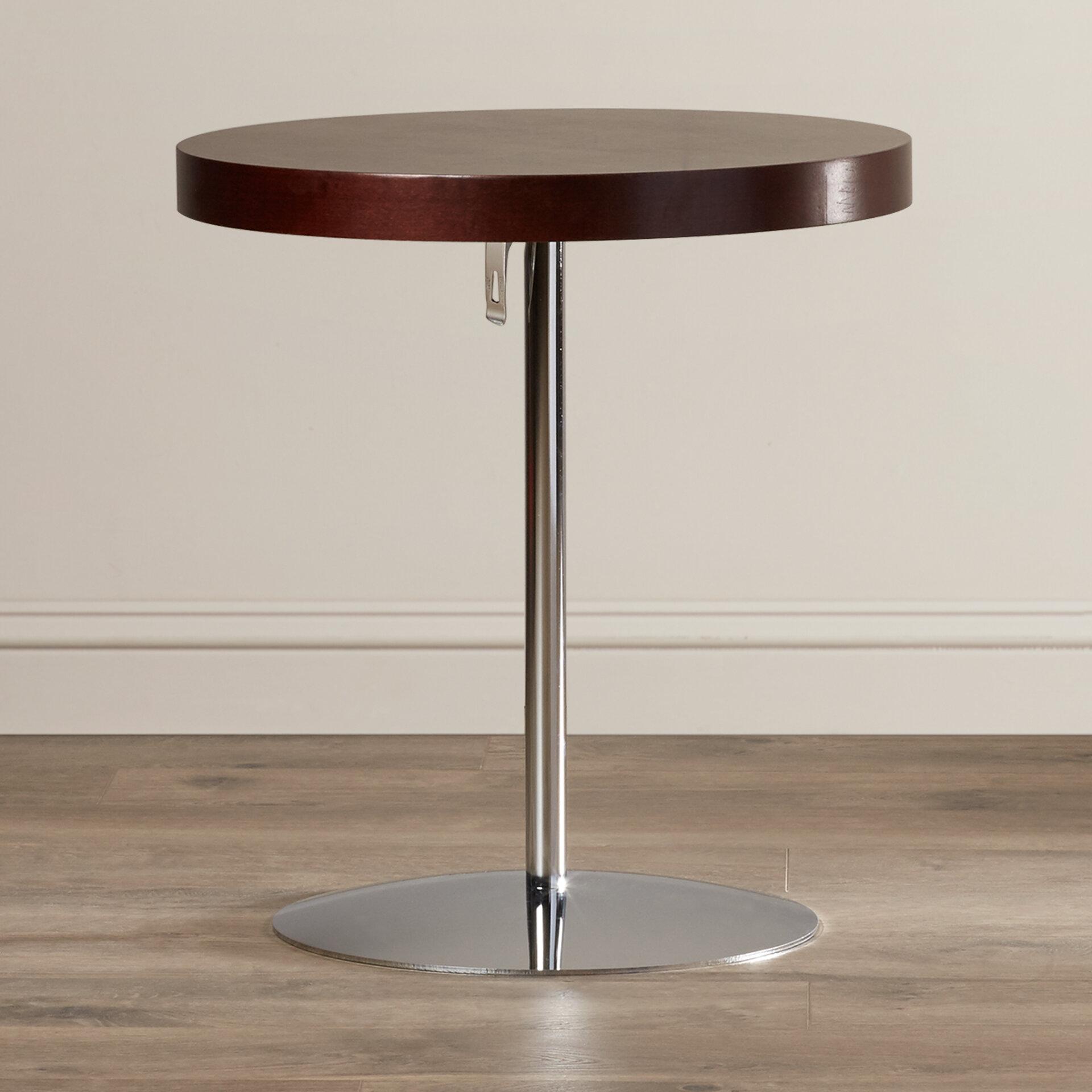 Superieur Wade Logan Acosta Wood Adjustable End Table U0026 Reviews   Wayfair