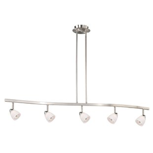 Ebern Designs Mulvaney 5-Light Kitchen Island Pendant