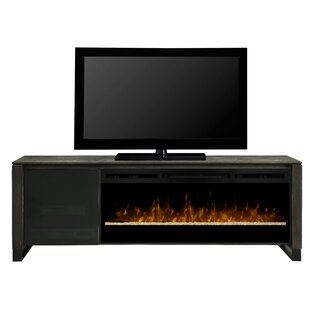 Howden TV Stand for TVs up to 75 with Electric Fireplace by Dimplex