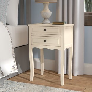 Compare Philipston 2 Drawer Nightstand by Andover Mills