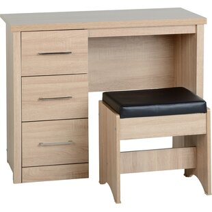 Lehigh 3 Drawer Dressing Table Set By Zipcode Design