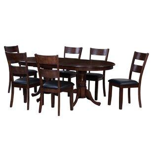 TTP Furnish Princeton 7 Piece Dining Set