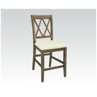 Aileen Counter Height Solid Wood Dining Chair (Set of 2) by Ophelia & Co.