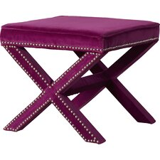 Morrison Solid Ottoman by Willa Arlo Interiors