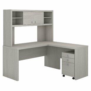 Kathy Ireland Office by Bush Echo 3 Piece L-Shaped Desk Set