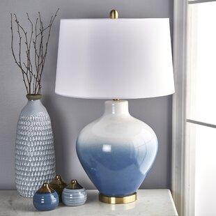 Audrina Ceramic Round 30 Table Lamp