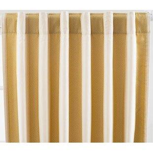 Silk Striped Curtains Drapes You Ll Love In 2021 Wayfair