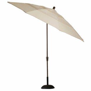 Crank Auto Tilt 11' Market Umbrella