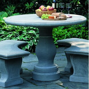 Palladio Cast Stone Bistro Table by Campania International Fresh