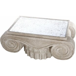 Fleur De Lis Living Ellicott Heavily Coffee Table