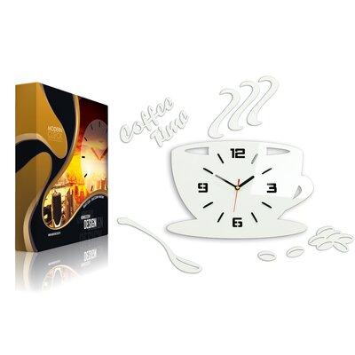 Wanduhr Coffee Time 3D | Dekoration > Uhren > Wanduhren | Happy Larry