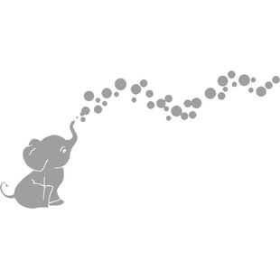 Save  sc 1 st  Wayfair & Nursery Elephant Wall Decals   Wayfair