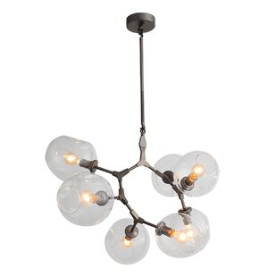 Brayden Studio Grier 7-Light LED Shaded Chandelier